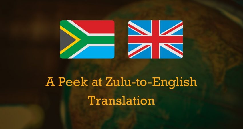 Zulu-to-English Translation