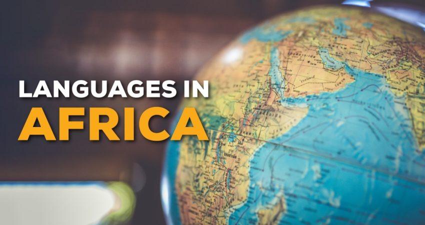 Languages In Africa