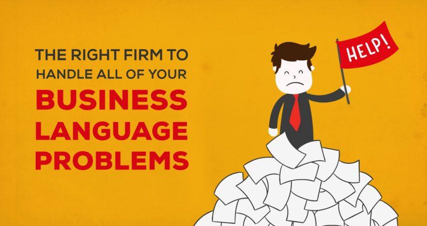 Handle Business Language Problem