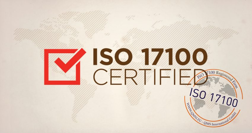 ISO Certified Translation Company